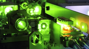 powerful laser