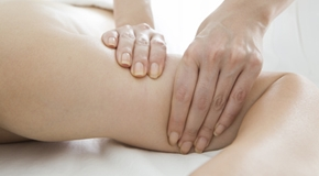 Massage crush cellulite upper arm